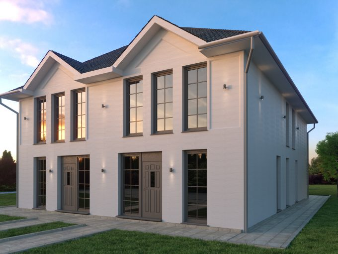 NEUBAU – Großzügige, moderne Doppelhaushälfte bei Potsdam